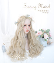 Alice Garden - 65cm Long Big Curly Wavy Blonde Lolita Wig