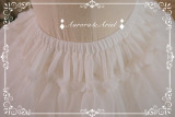 A-line Shaped Plus Puffy Organza 45cm Lolita Petticoat
