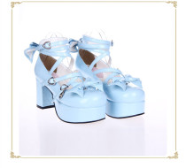 Angelic Imprint - Lolita High Chunky Heel Platform Round Toe Lolita Shoes