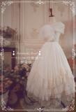 A-line Shaped 60cm Long Organza Dailyware Lolita Petticoat