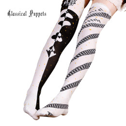 Classical Puppets - Over Knee Cotton Lolita Stocking for Autumn and Winter