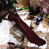 Classical Puppets - Over Knee Cotton Gothic Lolita Stocking for Autumn and Winter
