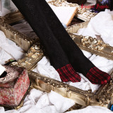 Classical Puppets - Over Knee Cotton Lolita Stocking with Lace for Autumn and Winter