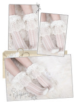 Yidhra - Heart Land Over Ankle Lolita Socks for Spring and Summer