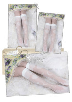 Yidhra - Cloud Under Knee Middle Length Lolita Stocking for Summer