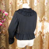 Chiffon Long Sleeve Lolita Bolero for Spring and Autumn