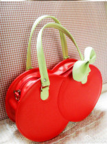 Loris - Cute Red Cherry Shaped Lolita Handbag