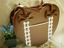Loris - Sweet Heart Shaped Lolita Shoulder Bag