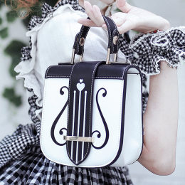 Lovely Lota - Vintage Harp Lolita Bag(Handbag, Shoulder Bag and Crossbody Bag Available)