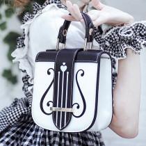 Lovely Lota - Vintage Harp Lolita Bag(Handbag, Shoulder Bag and Crossbody Bag Available)