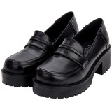Angelic Imprint - Middle Chunky Heel Round Toe Classic Platform Lolita Shoes