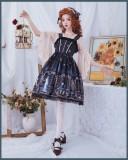 Brocade Garden - Astrology - Classic Lolita JSK Jumper Skirts