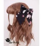 Magic Tea Party -Chocolate Rabbit- Sweet Lolita Headdress(Headbow, Bow hairpin)
