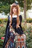 Surface Spell -Saint Knight- Vintage Gothic Lolita JSK Jumper Dress