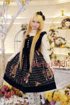 Surface Spell -Vienna Dream- Music Themed Gothic Lolita JSK Jumper Skirt