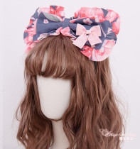 Magic Tea Party -Peach- Sweet Lolita Headbow