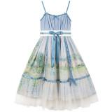 Summer Fairy -Monet Oil Painting- Classic Lolita JSK Jumper Dress