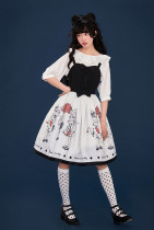 Summer Fairy -Cat- Casual Lolita JSK Jumper Dress