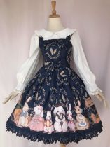 Yilia -The Harvest Season of Rabbit Farm- Sweet Lolita JSK Jumper Dress