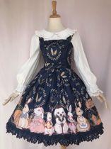 Yilia -The Harvest Season of Rabbit Farm- Sweet Lolita JSK Jumper Dress
