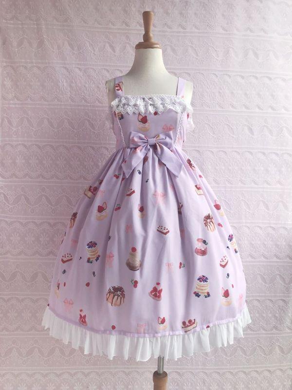Yilia -Strawberry Dessert- Classic Lolita JSK Jumper Dress