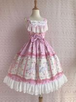 Yilia -Rose Horse- Sweet Lolita JSK Jumper Dress