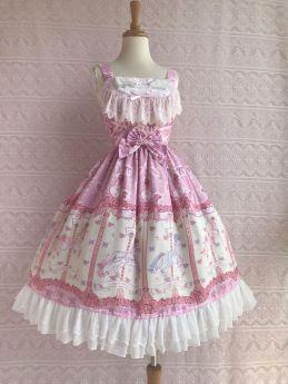 Yilia -Rose Horse- Sweet Lolita JSK Jumper Dress