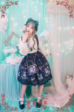 Strawberry Witch -Dream of Alice- Sweet Lolita Salopettes
