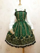 Yilia -Shdow- Classical Lolita JSK Jumper Dress