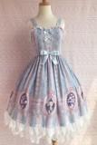 Yilia -Rose Girl- Sweet Lolita JSK Jumper Dress For Spring and Summer