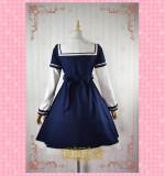 Strawberry Witch -Sailor Bear- Woolen Sailor Lolita Long Coat for Winter