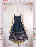 Strawberry Witch -Amusement Park- Sweet Lolita JSK Jumper Skirt Dresses