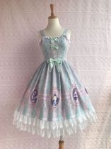 Yilia -Rose Girl- Sweet Lolita JSK Jumper Dress For Spring and Summer