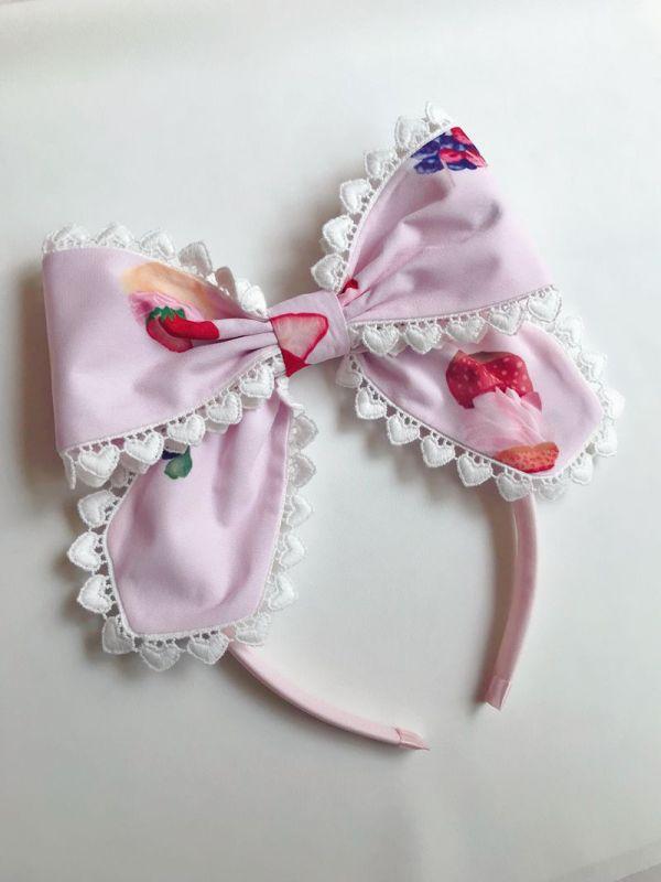 Yilia -Rose Girl- Sweet Lolita Headbow