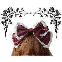 Magic Tea Party -Rose Knight- Sweet Lolita Headdresses(Bow Hairpins, Headbow)