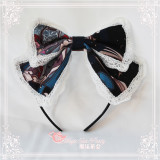 Magic Tea Party -Reading Time- Sweet Lolita Headbow