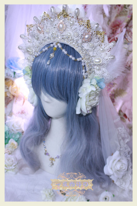 One Night Language - The Fairy Kingdom -  Vintage Classic Lolita Crown