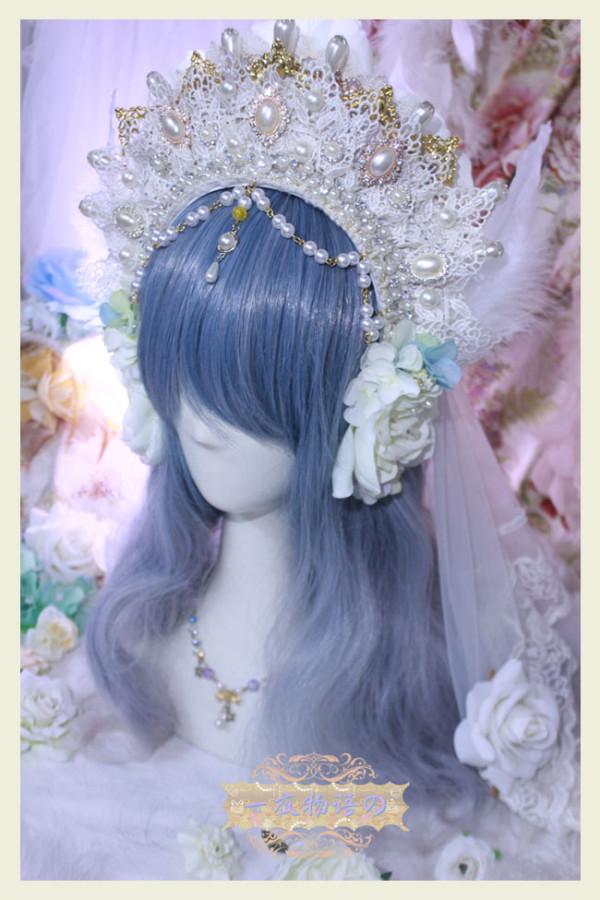 One Night Language - The Fairy Kingdom -  Vintage Classic Lolita Crown