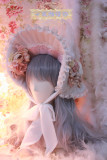 One Night Language - Headdress Tea Party - Classic Lolita Bonnet