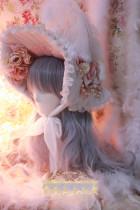 One Night Language - Headdress Tea Party - Classic Lolita Bonnet