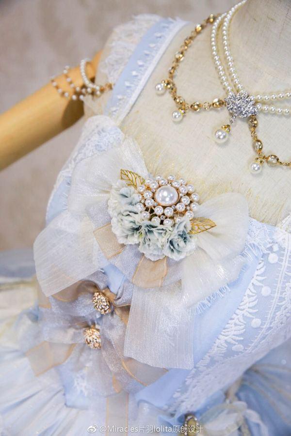 One Night Language - Bead Classic Lolita Necklace