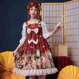 Eieyomi -Demons in Middle Night- Classic Lolita JSK Jumper Dress