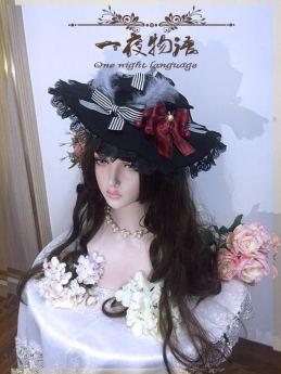 One Night Language - Gothic Lolita Hat