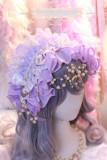 One Night Language - Sweet Lolita Headband with Pearls