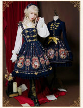 Uwowo -Coronation of Brumaire- Classic Lolita JSK Jumper Skirt Dresses