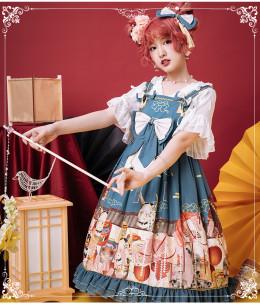 Eieyomi -Demons in Middle Night- Classic Lolita JSK Jumper Dress