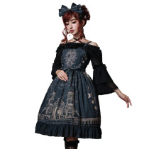 Eieyomi -The City of Deer- Gothic Lolita JSK Jumper Dress