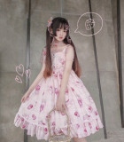 Diamond Star - Sweet Casual Lolita JSK Jumper Dress