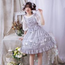 Eieyomi -Girl'Rom- Sweet Lolita JSK Jumper Dress