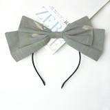 Eieyomi -Miss Pea- Sweet Lolita Headbow